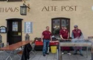 Ebersberg, Bavaria hosts are waiting for the return...