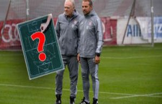 FC Bayern against Gladbach: Possible line-up - Zirkzee...
