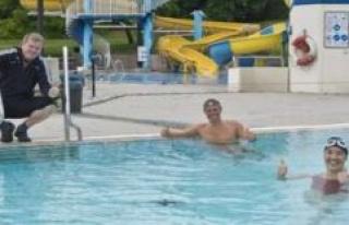 First swimmers in the Rigi-slip'n: Corona season is...