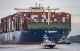 German exports in April more than 30 percent
