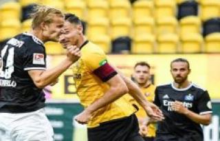 HSV-News: Hamburg celebrates after a late Pohjanpalo...