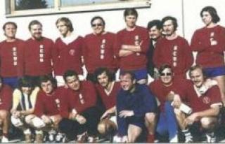 Handball team of the SC under pfafenhofen: half A...