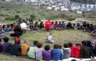 Here gröben Zeller refugee children   Gröbenzell...