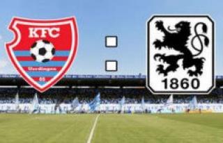 KFC Uerdingen - TSV 1860 in the Live-Ticker: reunion...