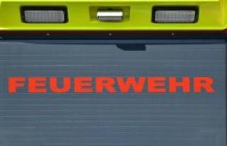 Königs Wusterhausen: fire in old NVA canteen in Königs...