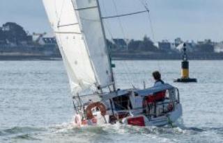 Lennart Burke sails in 1,000-nautical-mile Quali