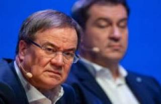 Markus Söder black-and-green Chancellor: survey falls...