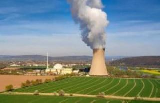 Northern Europe : a small increase of radioactivity...