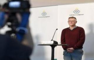 Only rejected: Swedish Epidemologe Tegnell back row...