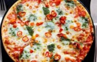 Pizza dough: use a rolling pin? Then you make a big...