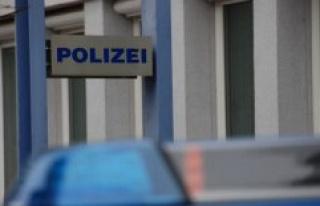 Police headquarters Frankfurt am Main: resistance...
