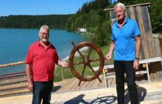Schongau: Alois Sporrer is the new Lechfloß-captain...