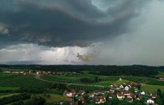 Severe weather warning! Heavy heavy rain, these regions...
