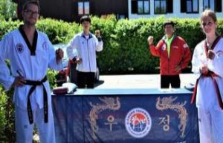 Taekwondo: Lina-Marie's choice is the youngest black...