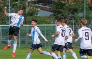 U17 TSV 1860 Munich rises to the termination of the...