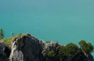 Walchensee/Bavaria: tourist crowds overrun Paradise...