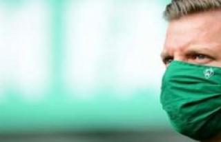 Werder Bremen against Mainz 05 - Florian Kohfeldt:...