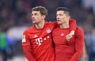 Yellow locked: Thomas Müller and Robert Lewandowski's...