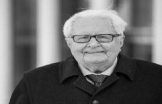 After a long illness died: Ex-SPD leader Hans-Jochen...