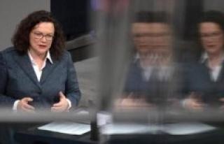 Andrea Nahles: political Comeback of Ex-SPD Leader...