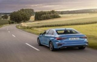 Audi A3 sedan in the Test