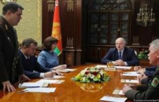 Belarus accuses Russian mercenaries unrest