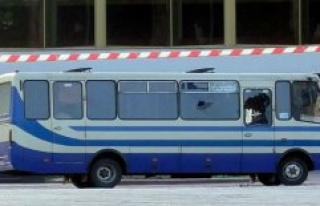 Drama in the Ukraine: police storm Bus hostage-taker...