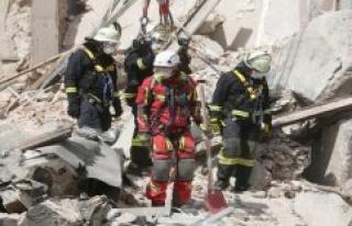Düsseldorf: Second construction worker after the...