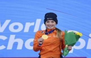 Dutch short track world champion: Lara van Ruijven...