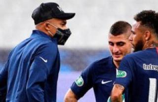 Football : ankle sprain for Mbappé, uncertain for...