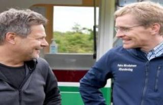 Handewitt: Habeck, and Günther Hiking together through...
