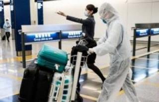 In hong Kong, the quarantine derailed and lépidémie...