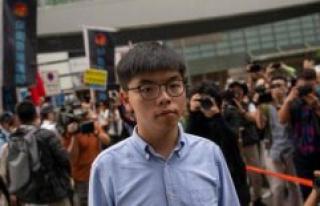 Joshua Wong : China makes it impossible to remain...