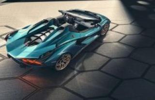 Lamborghini Sián Roadster: images and data