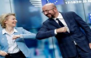 Not Italy and Spain - the right of EU money rain falls...
