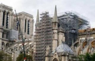 Notre-Dame of Paris : the arrow should be rebuilt...