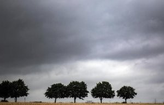 Offenbach/Hamburg/Kiel: Deep Anja: rain and colder...