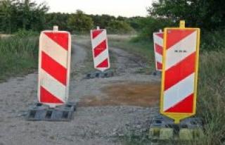 Oranienbaum-Wörlitz: risk of accident in Rehsen:...