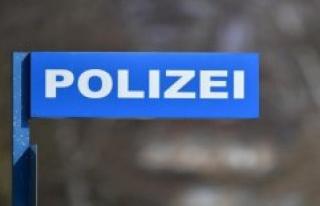 Police Coesfeld: Coesfeld, downtown / police looking...