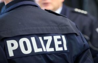 Police headquarters, Pforzheim, Germany: traffic accident...
