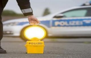 Polizeiinspektion Sankt Ingbert: Graffiti in the street...