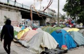 Seine-Saint-Denis : Aubervilliers, a vast camp for...