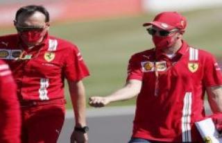 Silverstone: no big hurry: Vettel leaves the future...