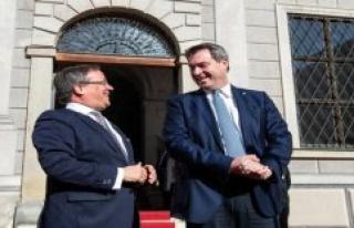Söder ventures into K-question dangerous - the CDU...
