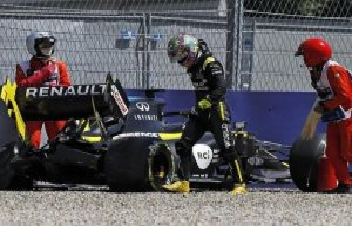 Spielberg: Renault-Pilot Ricciardo survives training...