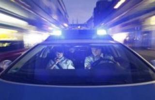 The police headquarters of Neubrandenburg: Three people...