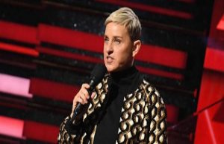 United states : Ellen DeGeneres, star of the small...