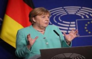With surprising EU speech, Merkel gossip deals a slap...