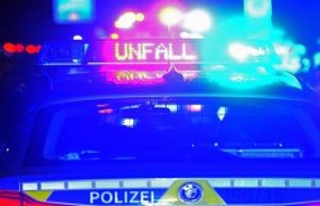 Zwickau: Two injured in head-on collision in Zwickau