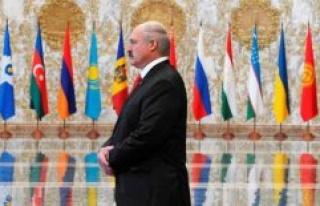 Belarus : president Lukashenko declared the winner...